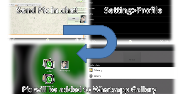 how to get pictures from whatsapp folder on computer