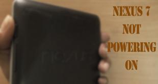 Nexus 7 not powering ON !