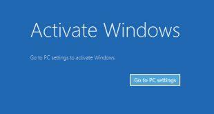 activate windows 8 blue screen