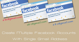 create Multiple Facebook Accounts With Single Gmail Address