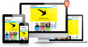 swift responsive website