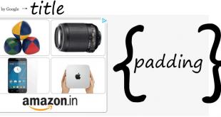 adsense with padding