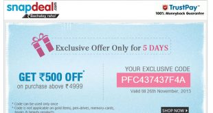 exclusive coupons
