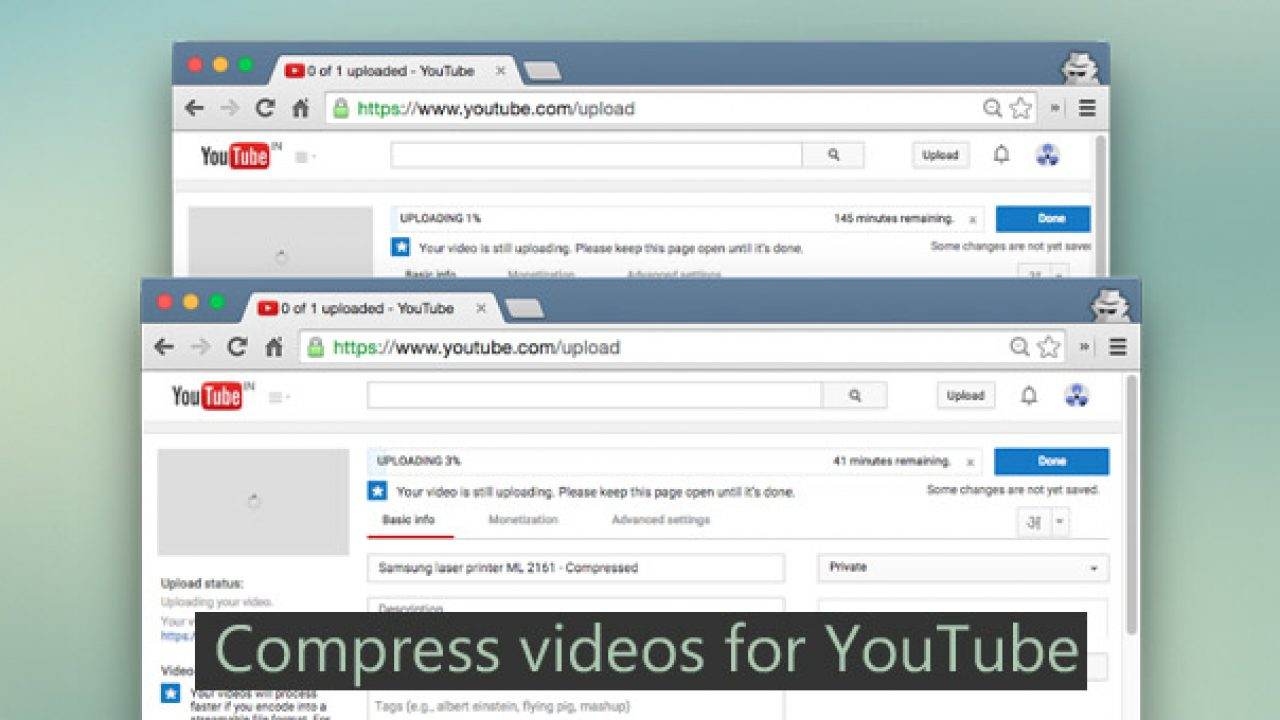 Compress Videos for YouTube Without Losing Quality | TechWiser
