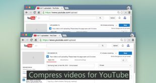 compress videos for YouTube-- handbrake