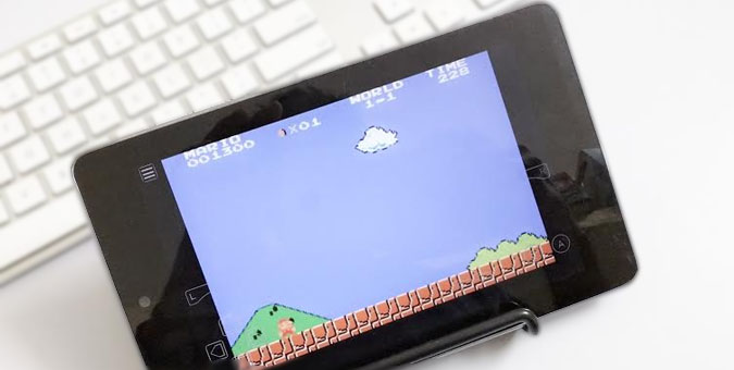 play super mario on Android