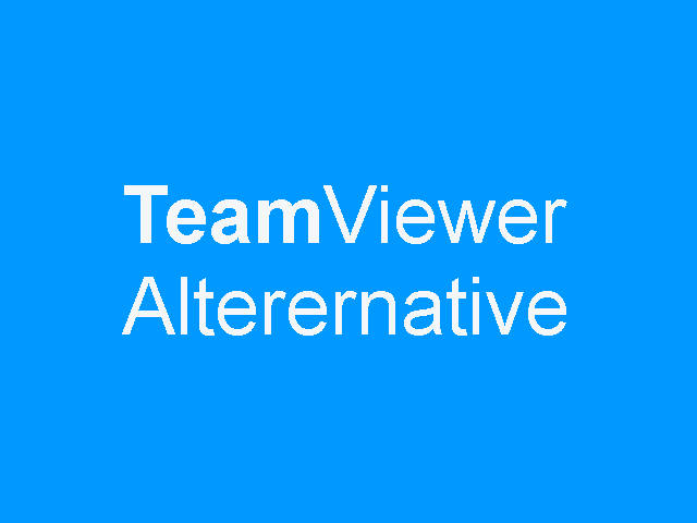 Teamviewer 640x480 Only