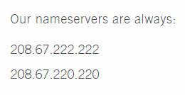 Open DNS IP addresses