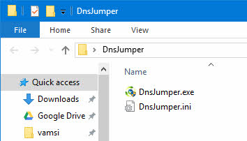 Add OpenDNS in Windows