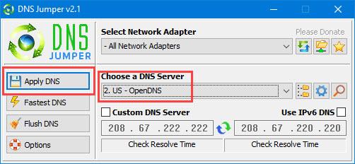 WindowsでOpenDNSを追加する