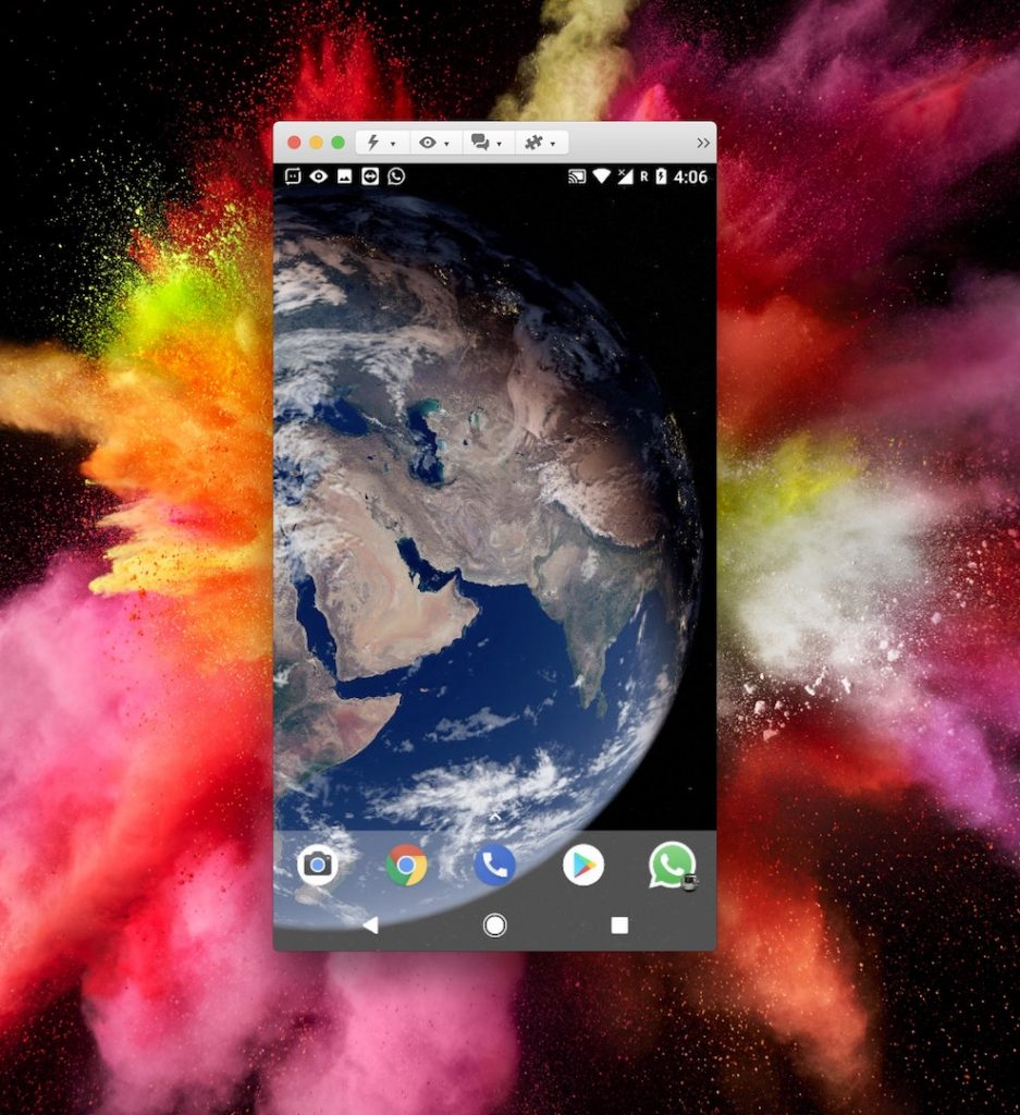 Cast your Android screen with TeamViewer