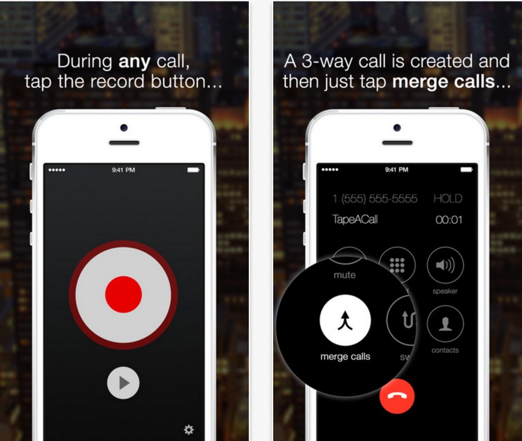 Record Phone call using iPhone App