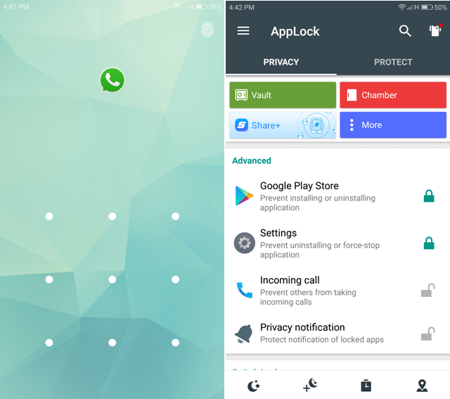 Android Apps For WhatsApp- applock