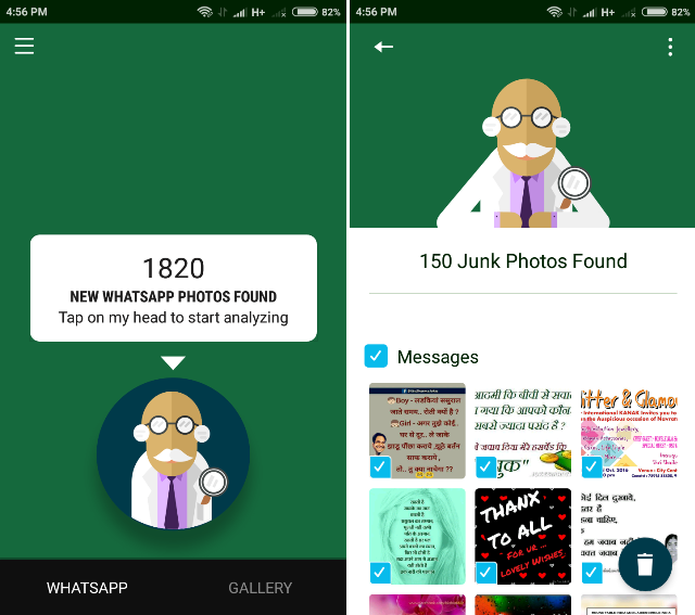 Android Apps For WhatsApp- sifter