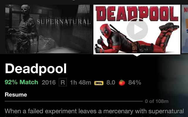 How to add IMDB and Rotten Tomatoes Ratings on Netflix