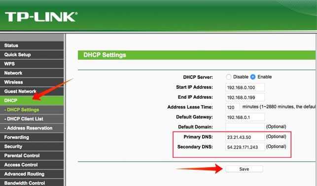 Setup-custom-DNS-on-your-router