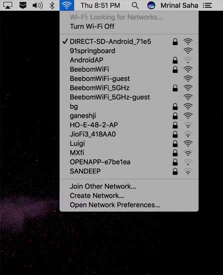 Create a WiFi hotspot from Android which is already