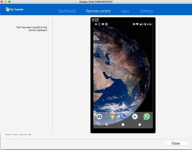 Teamviewer on Android