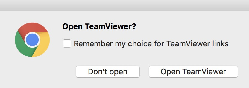 launch the TeamViewer