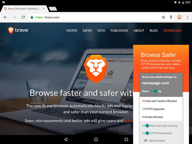 7 Best Anonymous Browsers for Android | TechWiser