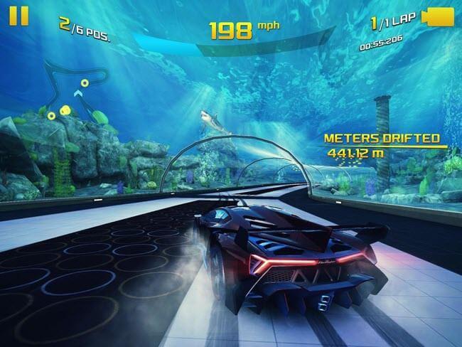 asphalt airborne racing gameplay