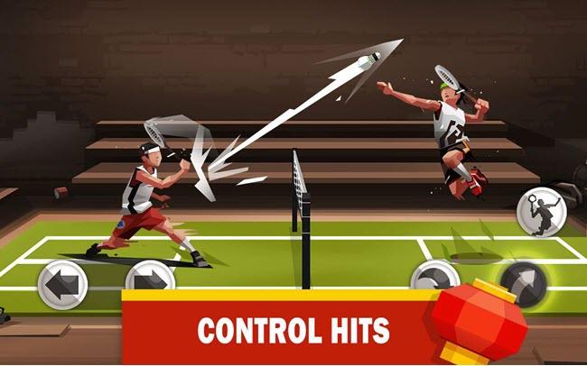 badminton league gameplay