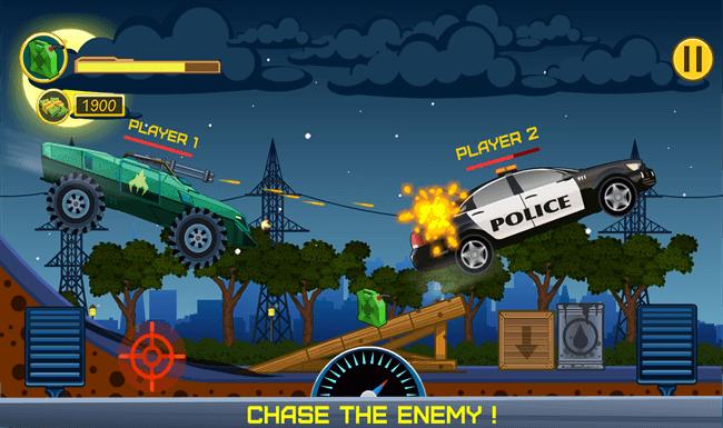 crazy racing gameplay