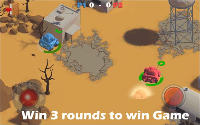 tanks battle game mode