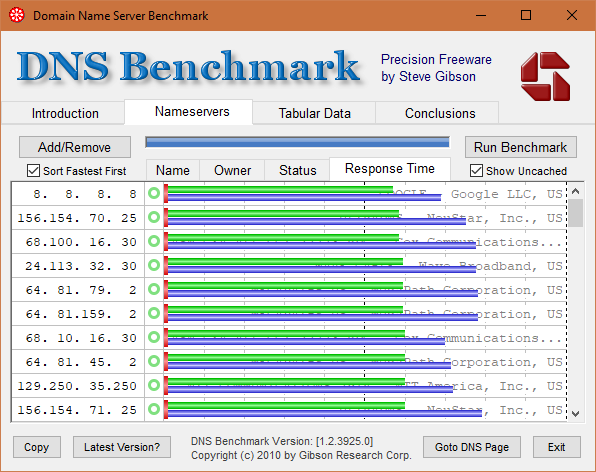 3 Best DNS Benchmarking Tools To Find the Fastest DNS Server