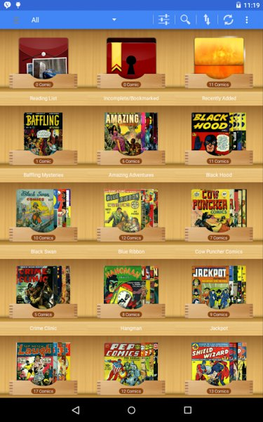 6 Best Comic Book Reader Apps for Android | TechWiser