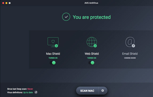 mac antimalware - avg