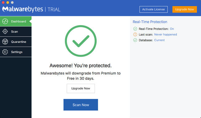 mac antimalware - malwarebytes