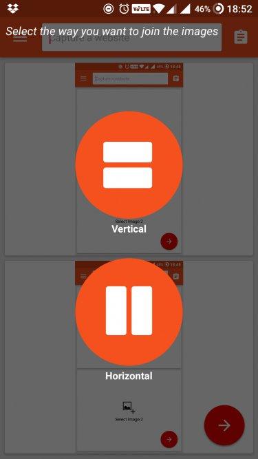 screenshot join vertical n horizontal