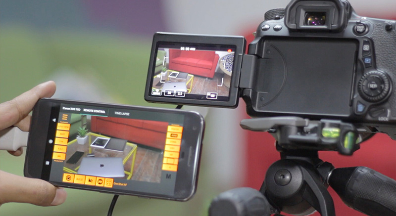 Use Android and iPad as a External Monitor for your DSLR | TechWiser