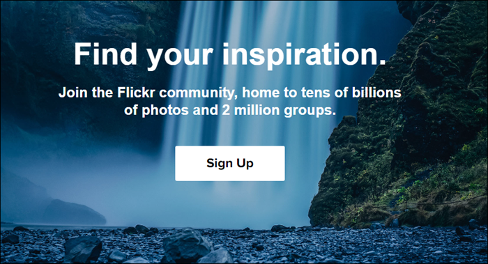 Flickr image hosting
