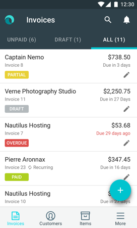 invoice by waveapps
