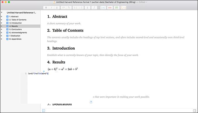 Manuscripts Mac OS