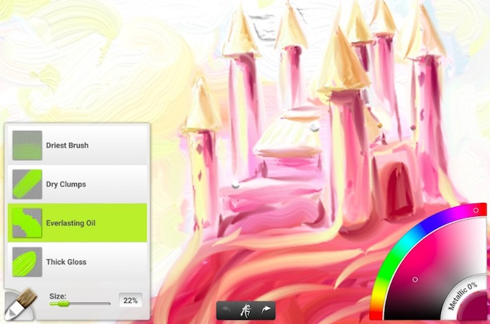ArtRage app screenshot