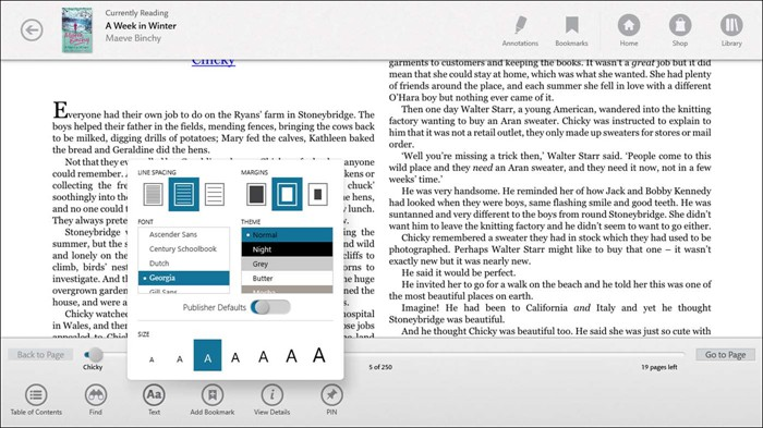 nook epub reader for windows