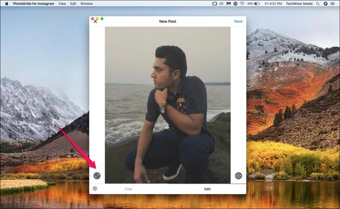 photogrids for instagram vertical image