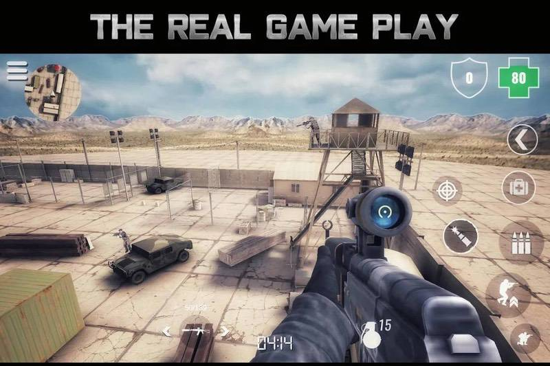 Best multiplayer shooting games app