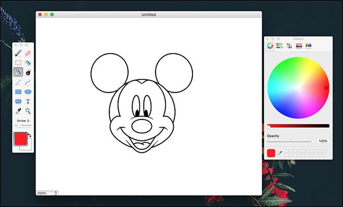 Paintbrush Mac OS