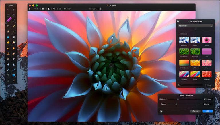 Pixelmator on Mac OS