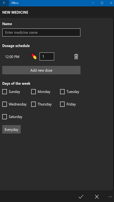 pillbox medicine reminder for windows