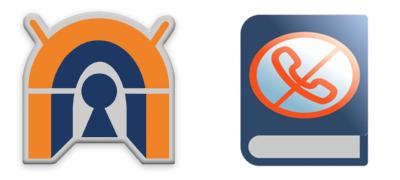 screenshot of app icons OpenVPN and Blockada