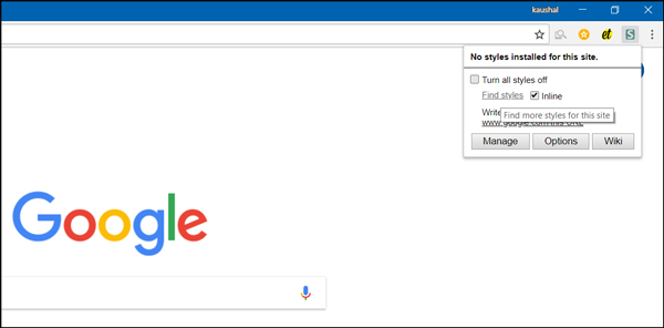 How to Customize Google Homepage With Your Name and Picture