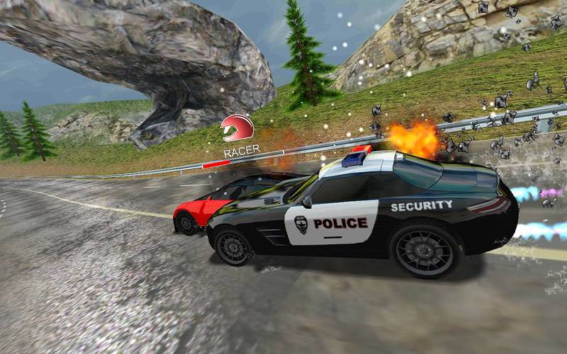 Racers Vs Cops- Multiplayer