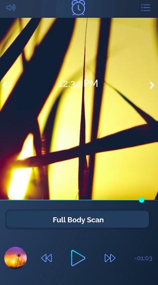 beditations app screenshot