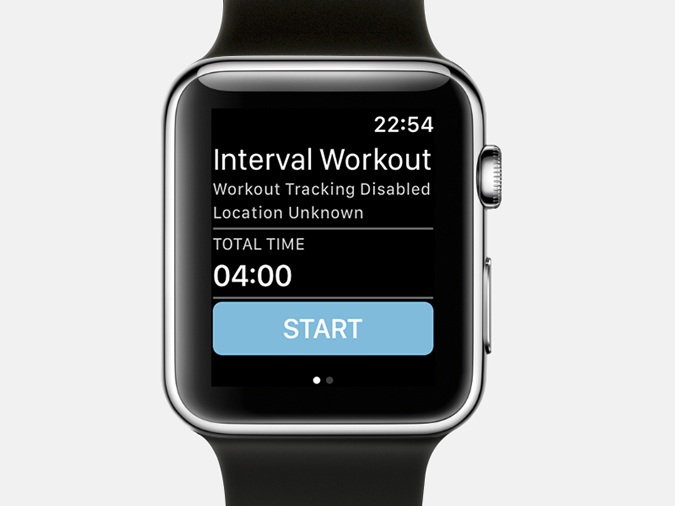 Apple Watch Timer Apps-new intervals