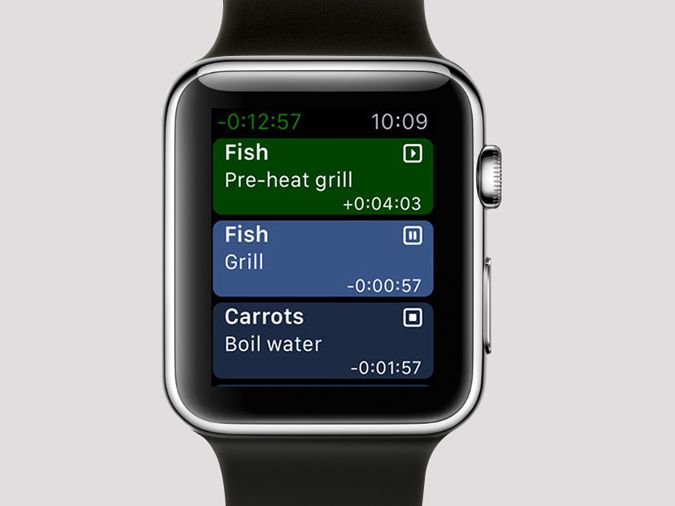 Apple Watch Timer Apps- carrots